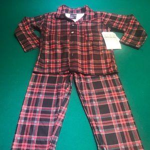 NWT!  Toddler Boys Flannel PJs.